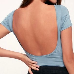 Backless Bodysuit size small
